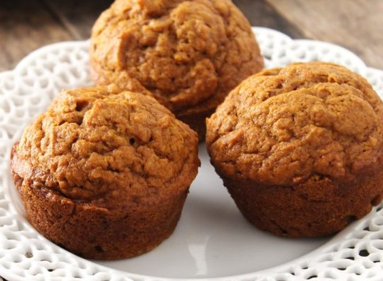 image of muffins made from pumpkin